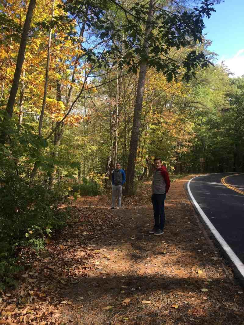 Cornell Botanic Garden in fall