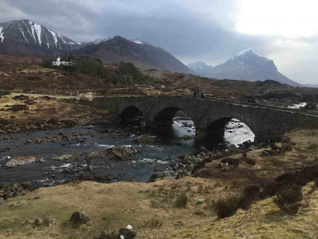 scottish highland bridge