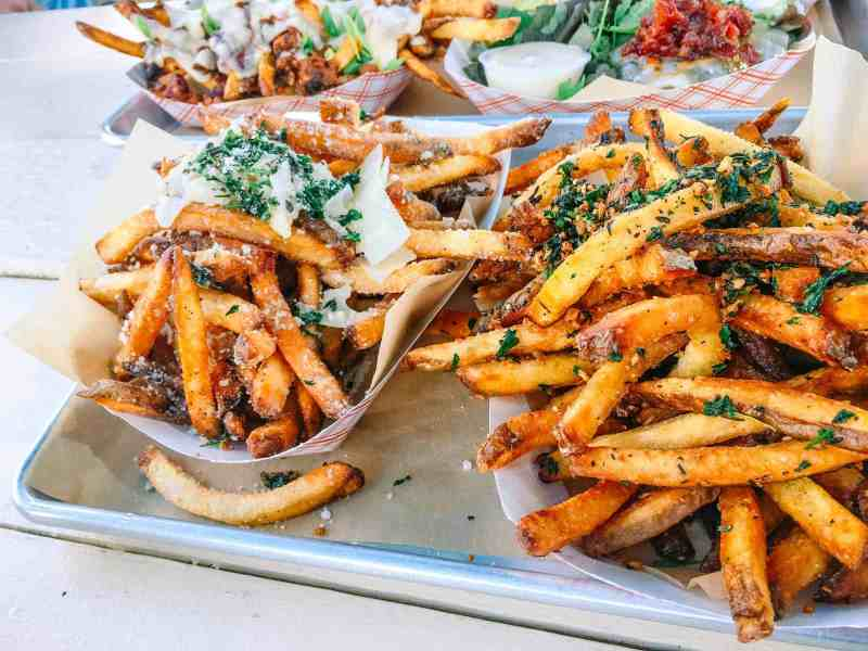 bistro box fries