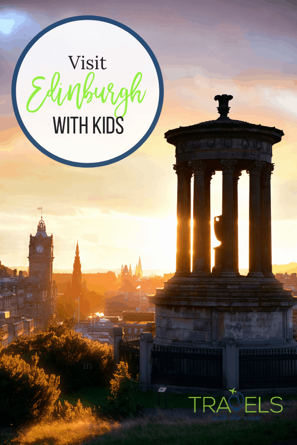 Edinburgh is a great city to visit with your kids! They will love Real Mary King's Close, Holyroodhouse, and the Camera Obscura. #scotlandtravel #edinburghtrave #familytravel