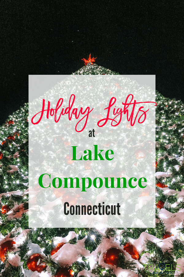 Holiday Lights at Lake Compounce in Connecticut
