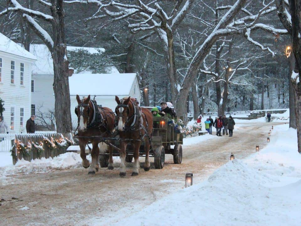 sturbridge sleigh ride