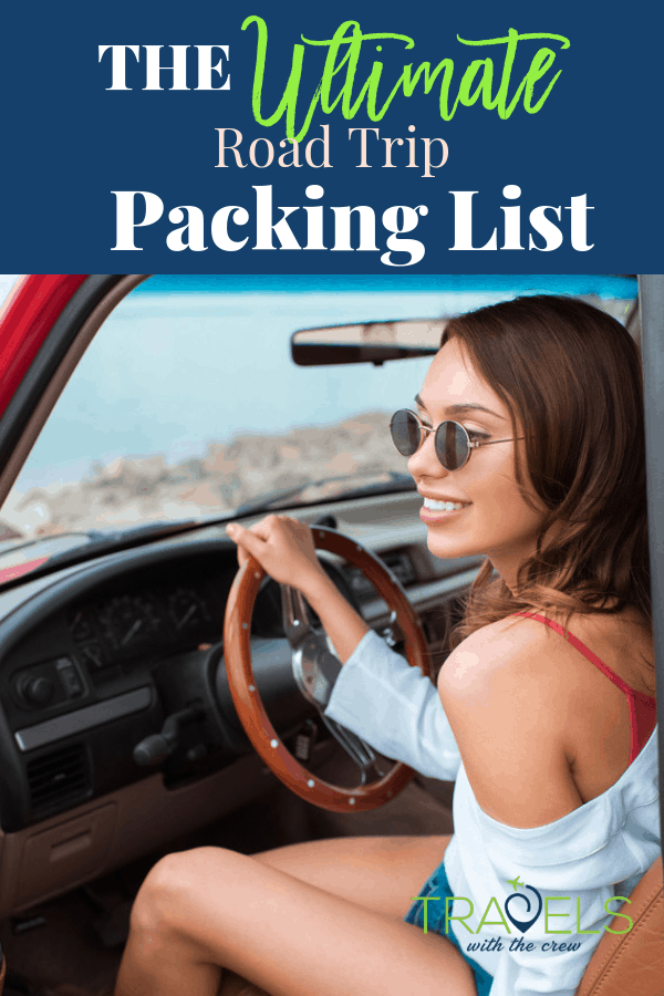 The best packing list for a road trip! Don't forget an essential. #roadtrip #packinglist #familyvacation