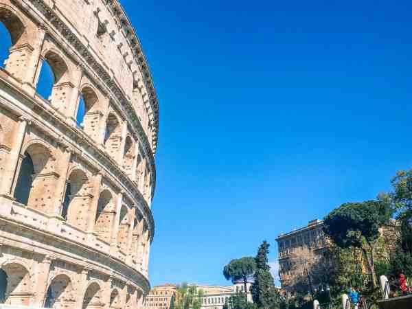 Coliseum in epic Italy trip