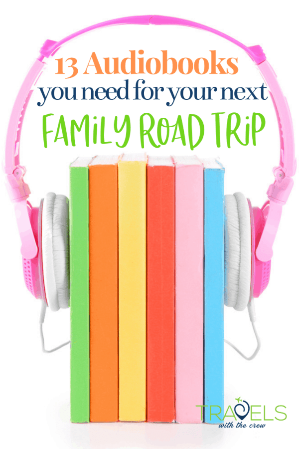 The very best audio books for family road trips! Here are the magic titles that will make everyone happy and content. Titles that everyone will enjoy
