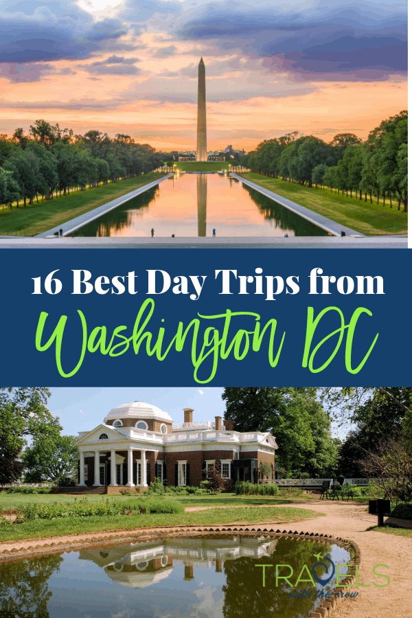 29 Best Day Trips from Washington DC. Don't miss out on a single historic activity or cultural experience! #daytrips