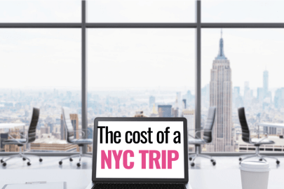 How much does a trip to New York City cost?