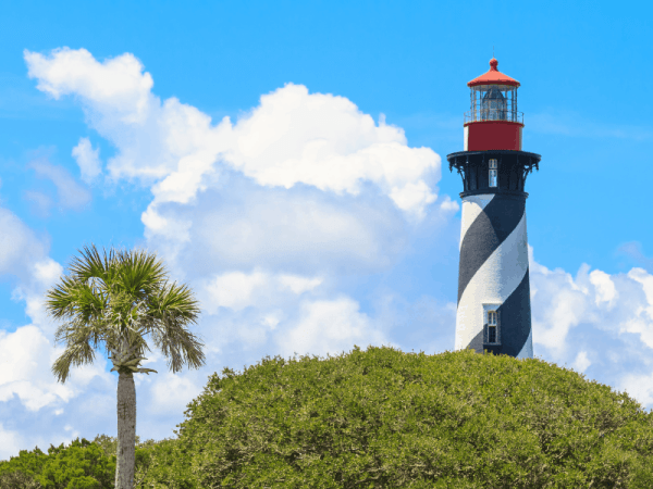 Light house in St. Augustine