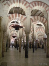 couldn't resist including this one-multiple arches in La Mezquita, Córdoba
