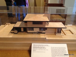 Purcell-Cutts house model
