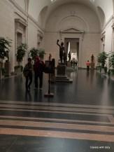 museum scene