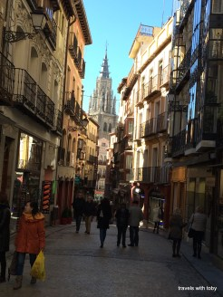 catedral and typical street