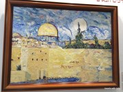 Painting of the Wall of Jerusalem