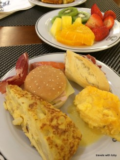 breakfast buffet, Cafe Varela