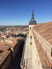 inside the alcázar with wonderful views