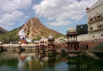 Sagar Lake At Moosi Maharani Ki Chhatri