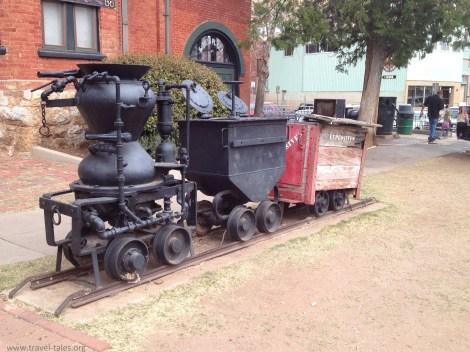 Bisbee mine trolley 2