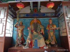 San Yuan Temple 31 God of wisdom