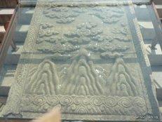 Stairway carvings