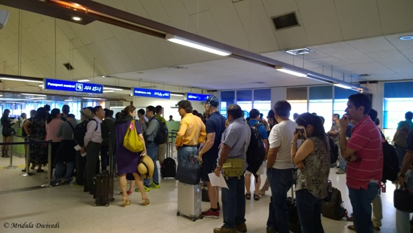 Image result for queue for visa