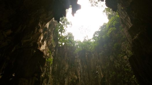 cave roof