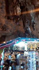 Stalls inside the cave