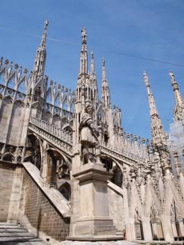 Rooftop of Milan Duomo