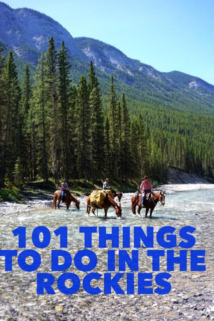 101 Things to do Alberta Rockies