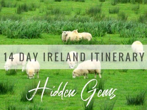 14 day hidden gem Ireland itinerary. A complete guide to Ireland travel including where to stay in Ireland, Irish food finds and tried and tested Ireland travel tips.