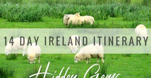 14 day hidden gem Ireland itinerary