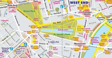 london walking map