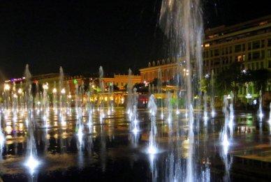 Nice France Fountains