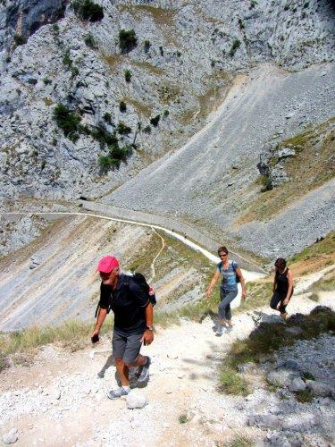 La Rute del Cares Spain - a flat hike?