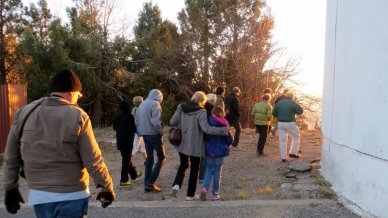 Participants of Skynights program at Mt Lemmon