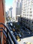 Hotel Giraffe New York balcony view