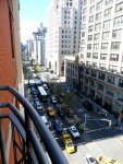 Hotel Giraffe New York balcony view