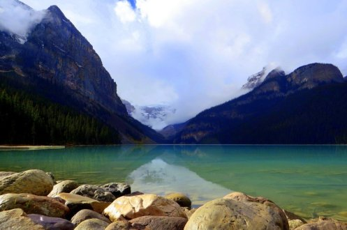 Lake Louise Emerald water
