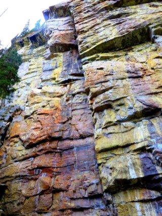 Lake Louise Rock climb