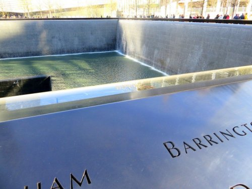 New York 9/11 Memorial Pool September 11 Ground Zero