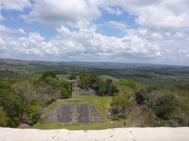 view from xunantunich-Belize