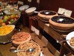 Hotel Oro Verde buffet breakfast