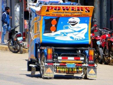 Peru mototaxi