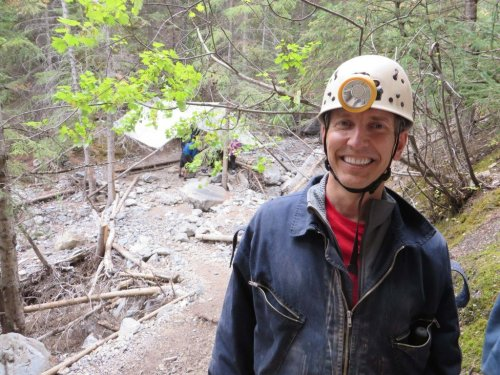 clothing and gear for caving