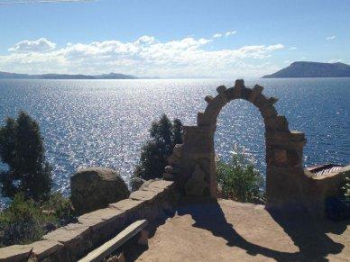 Peru Lake titicaca