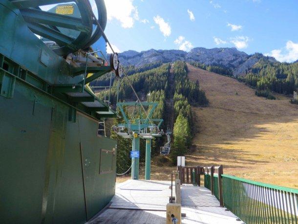 Mt Norquay North American chair lift