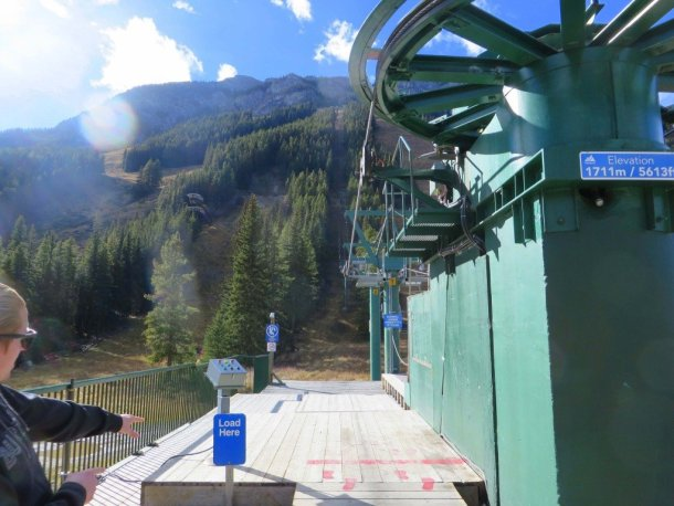 Chairlift Banff Norquay