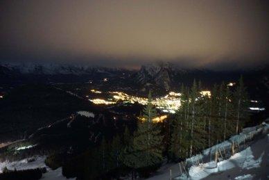Banff night image