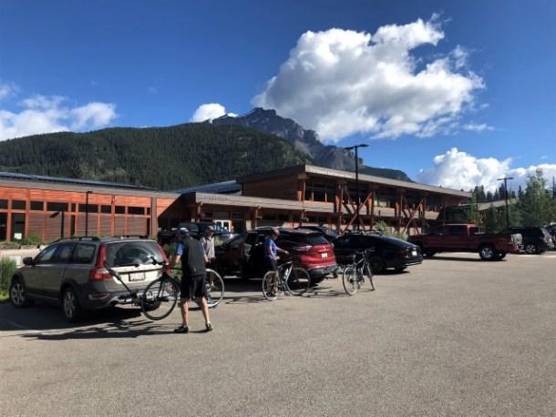 Banff Fenlands Recreation Centre parking
