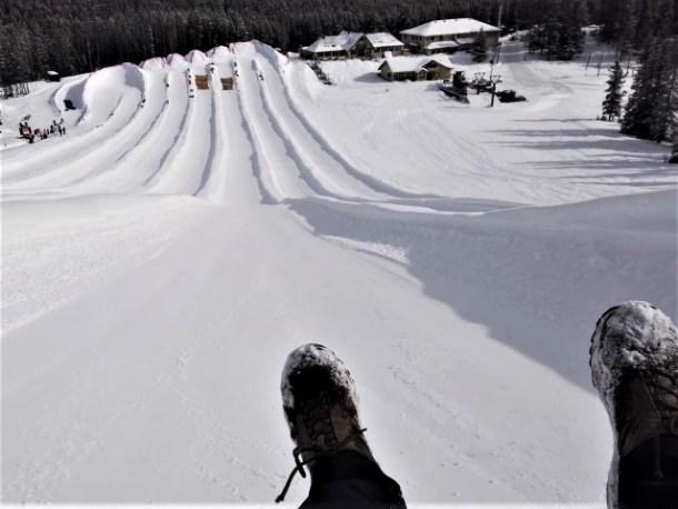 Banff Tubing Mount Norquay
