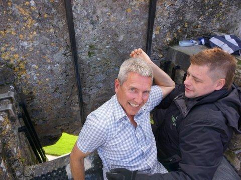 Blarney Stone kisser